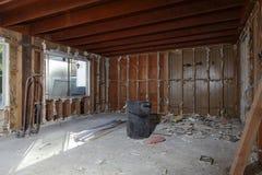 Reconstrucción casera Foto de archivo libre de regalías