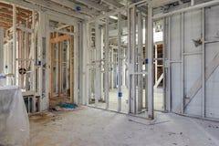 Reconstrucción casera Foto de archivo