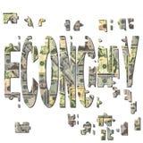Reconstrucción de economía americana Imagen de archivo libre de regalías