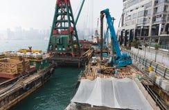 Reconstrucción de la avenida de estrellas en Hong Kong Fotos de archivo