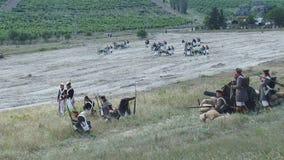 Reconstrucción de la batalla del pasamontañas metrajes