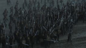 Reconstrucción de la batalla de Orbulak metrajes
