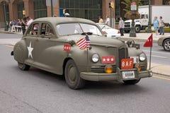 Reconstrucción de los años 40 de la Segunda Guerra Mundial Imágenes de archivo libres de regalías
