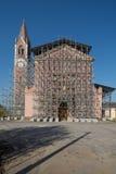 Reconstrucción de una iglesia Imágenes de archivo libres de regalías