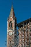 Reconstrucción de una iglesia Imagen de archivo libre de regalías