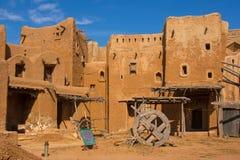 Reconstrucción del capital de la horda de oro Sarai-Batu Foto de archivo libre de regalías