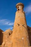 Reconstrucción del capital de la horda de oro Sarai-Batu Imagen de archivo