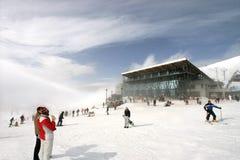 Reconstrucción del invierno Imagen de archivo