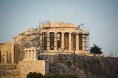 Reconstrucción del Parthenon Fotografía de archivo libre de regalías