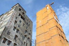 Reconstrucción en las pinzas de Kwun, Hong Kong Imágenes de archivo libres de regalías