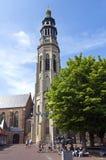 Reconstrucción para Abbey Tower antigua en Middelburg Foto de archivo