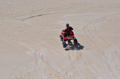 Reconstrucción en Lancelin Sand Dunes: Australia occidental Foto de archivo libre de regalías