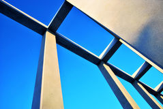 Reconstruct the sky. A Landmark of our city.It gives you a strong visual sense Royalty Free Stock Photos