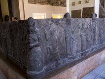 Reconstructed Assyrian Building in Museum In Berlin Germany. The Capital city of Berlin is a vibrant city filled with cultural activities such as museums and Stock Image