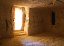Reconstructed byzantine house Stock Images