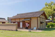 Reconstructed samurai house in Matsuyama, Japan Stock Images
