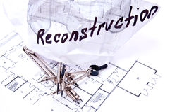 Reconstruction Royalty Free Stock Image
