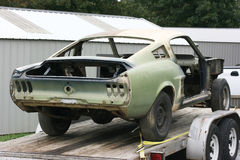 Reconstruction 1967 de Fastback de mustang Photographie stock libre de droits