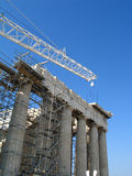 Reconstruction of Acropolis Stock Image