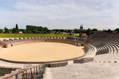 Reconstruction of amphitheater Royalty Free Stock Photography