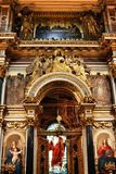 Reconstruction d'église Image libre de droits