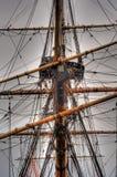Vieux bateau de navigation Image stock