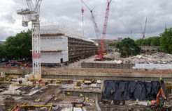 Reconstruction de domaine de Heygate, Londres Photo stock