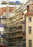 Reconstruction de façade Photographie stock libre de droits