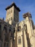 Reconstruction de la cathédrale Photographie stock libre de droits