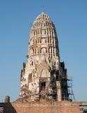 Reconstruction des ruines Image stock
