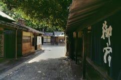 Edo period street, Japan Stock Photos