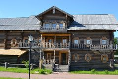 Reconstruction of the farm house. Royalty Free Stock Photos