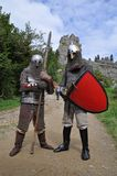Reconstruction of fighting equipment Royalty Free Stock Photos