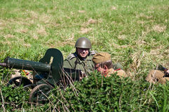 Reconstruction of the Great War Stock Photography