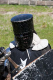 Reconstruction of knightly fight Stock Image