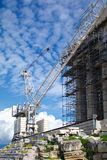Reconstruction of Parthenon Stock Photo
