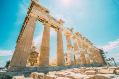 Reconstruction of Parthenon Stock Images