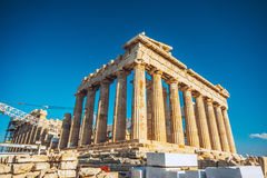 Reconstruction of Parthenon Royalty Free Stock Photography