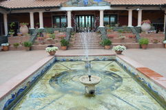 Reconstruction of roman villa Royalty Free Stock Photo