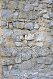 Reconstruction stone-work wall Stock Photo