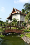 Reconstruction of traditional malayan house Royalty Free Stock Photo