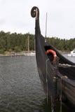 Reconstruction of the viking ship Sigrid Storrada Stock Photos