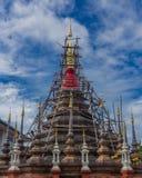 Reconstruya la pagoda Imagen de archivo libre de regalías