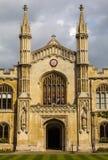 Recopilación Christi College en la Universidad de Cambridge Imagen de archivo libre de regalías