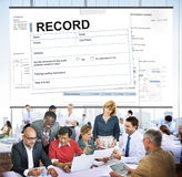 Record Agreement Contract Legal Document Concept Royalty Free Stock Images