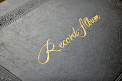 Record album cover Stock Photography