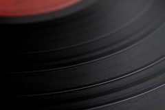 Record background. Vinyl record background with track grooves Royalty Free Stock Images