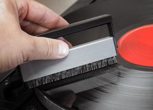 Record Brush Royalty Free Stock Images