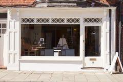 Record, CD and hi-fi shop front exterior Royalty Free Stock Image