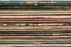 Record cover Stock Photo